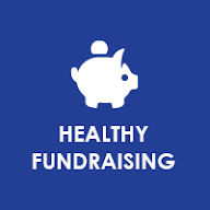Healthy Fundraising Button